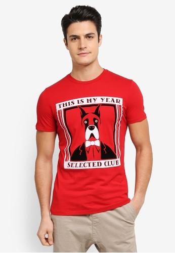 ESPRIT red Short Sleeve T-Shirt ES374AA0T18VMY_1