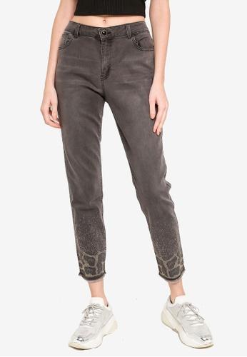 Desigual grey Shelley Skinny Jeans 71CC5AA3E4B901GS_1