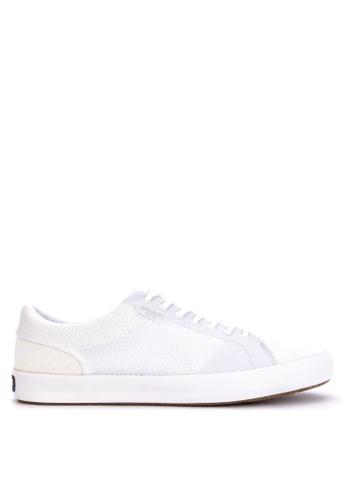 Sperry white Flex Deck LTT Mesh Sneakers 9BFF6SH13E62EDGS_1