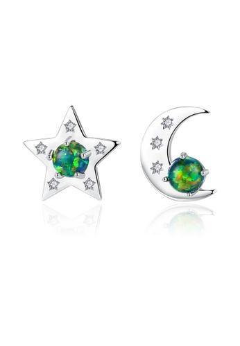 SUNRAIS silver High quality Silver S925 silver fashion earrings 09AC5ACC003103GS_1