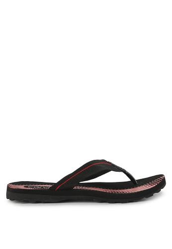 CARVIL black and multi Sandal Sponge Man Furo 9D244SH6300C16GS_1