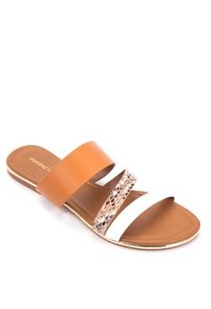 Cathy Flat Slides