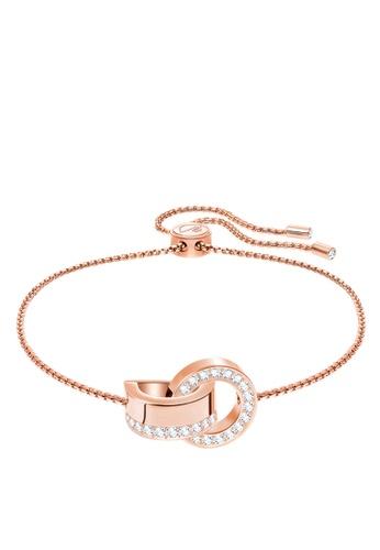 Swarovski gold Hollow Bracelet 015BDACD82612FGS_1
