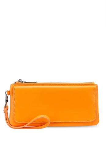 nose orange Plain Long Wallet FC44BACCCA11E7GS_1
