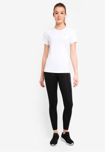 Calvin Klein white Sst W Ckp Bk Panel Tee - Calvin Klein Performance D9E4BAA8A1335FGS_1