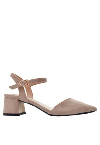 Twenty Eight Shoes beige Slingback Heel 181-2 4CB86SH3B4F468GS_1