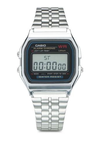 Casio silver Casio Watch A159WA-N1DF A067CACF5813DFGS_1