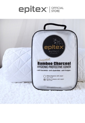 Epitex white Epitex Bamboo Charcoal Bolster Premium Protector - Bolster Case 9BED1HLA9C905AGS_1
