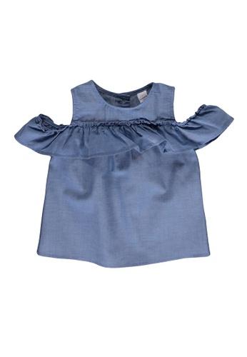 LC Waikiki blue Baby Girl Jean Blouse EABB9KA65CA6A9GS_1