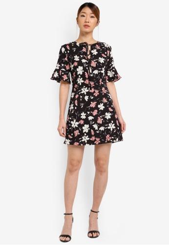 Buy Something Borrowed Short Bell Sleeve A-line Dress Online on ZALORA  Singapore