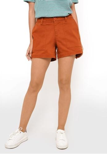 REGATTA orange Chino Shorts 8E309AAFA2DEF2GS_1