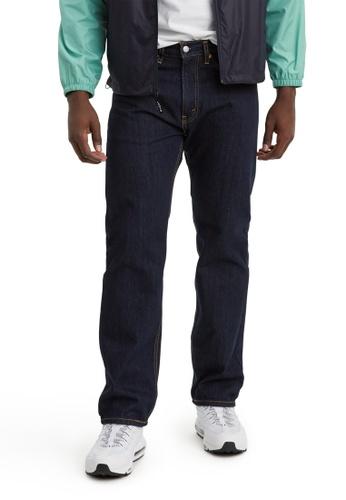 Levi's blue Levi's 505 Regular Fit Jeans 00505-0216 B7AA0AA4B0B946GS_1