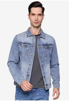 a0a28436f882c Cotton On blue Rodeo Jacket 065C3AA03FC7BEGS 1