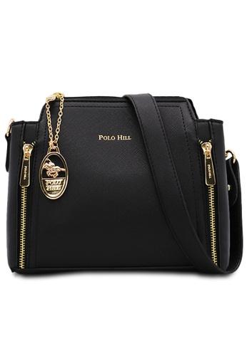 POLO HILL black POLO HILL Ensign Ladies Sling Bag 1A983AC59C60BDGS_1
