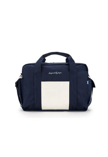 Peeps navy Cargo Boston Bag CAE84AC06DA4DCGS_1