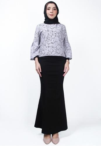 Ladies Jeans 黑色 时尚织花长裙 1FB38AA779DA6CGS_1