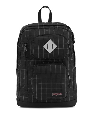 JanSport black Houston Backpack JA216AC0S5J3MY_1