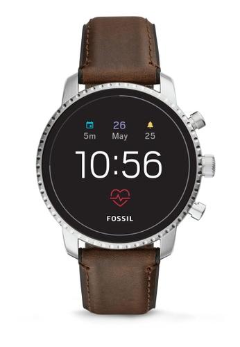 Fossil brown Explorist Smartwatch FTW4015 74A1CAC88E0DFEGS_1