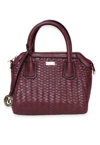 Nicole Lee Playa Union Hand Bag - Red