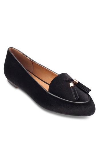 流蘇天鵝絨樂福鞋, 女鞋,esprit hong kong 分店 鞋
