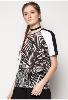 Printed Perforated Tee
