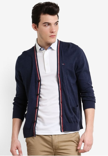 Tommy Hilfiger navy THDM ACL CARDIGAN L/S 3 TO729AA0F33GSG_1