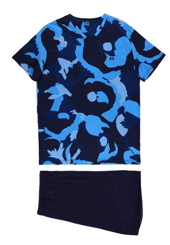 HOM black and navy Mayflower Short Sleepwear C367BAAF71F077GS_1