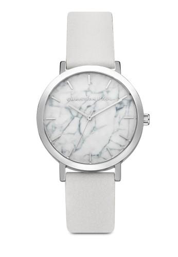 35mm Hayman 大esprit台灣網頁理石圓框手錶, 錶類, 時尚型