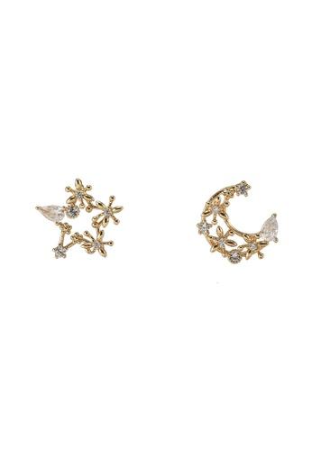 ALDO gold Paysa Pierced Earrings A1A83AC11719F1GS_1
