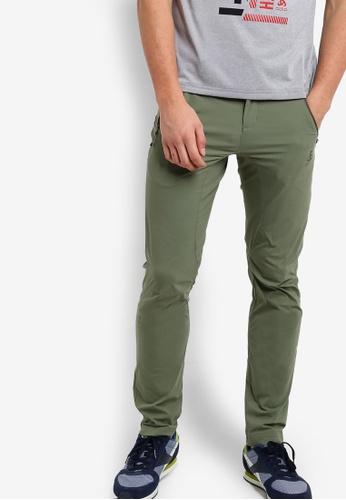 Odlo green Spoor Pants OD608AA18KAZMY_1