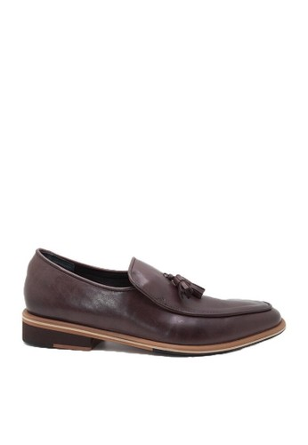 Nappamilano brown Edmond Tassel NA608SH67RUUID_1