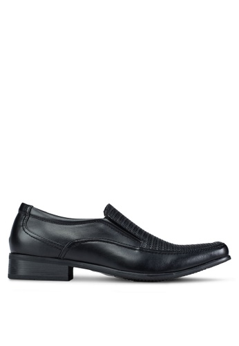 Louis Cuppers black Dress Shoes LO977SH19ABOMY_1