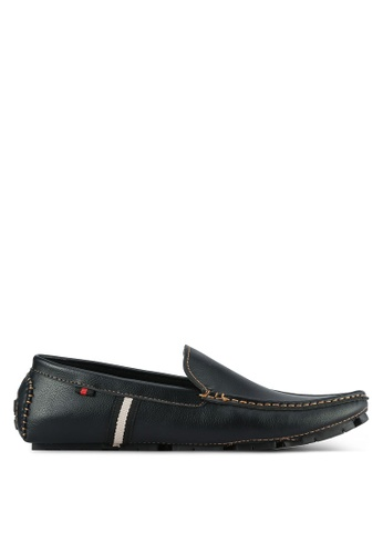 UniqTee black Classic Loafers UN097SH0S21AMY_1