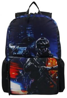 Unisex Printed Casual Daypacks Bag