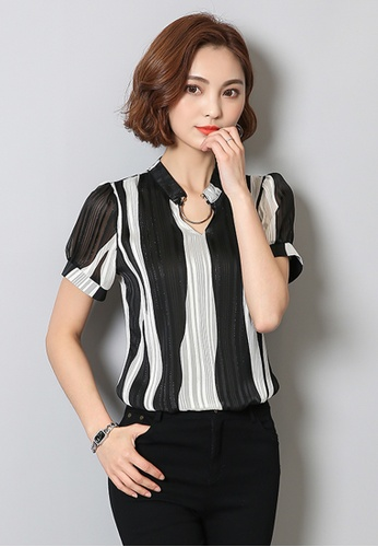 a8267bb1e9d1 Buy Trendyshop Colour Block Blouse