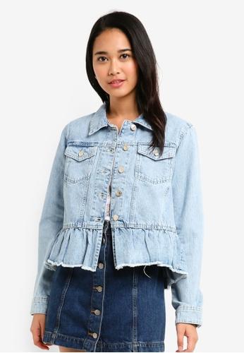 ESPRIT blue Indoor Denim Regular Jacket 3534EAAB7470DBGS_1