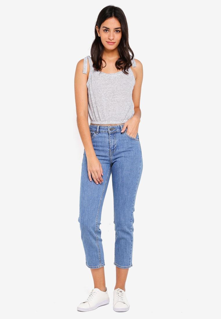 Blue Void Cropped Jeans Denim Edie Dr OPETnqXIT