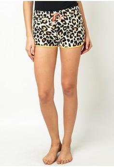 Nemuri Ladies Leopard Sleep Short