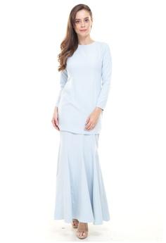 5cb566d971c097 Rina Nichie Basic blue Rina Kurung in Baby Blue 34045AAD3847DDGS 1