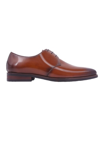 Simon Carter brown Simon Carter Lace-up Derby - Tan 67564SHE358529GS_1