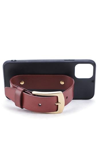 Twenty Eight Shoes Vintage Leather Belt iPhone Case QYE094 9B447ACEF1713EGS_1