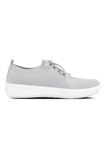 FitFlop white Fitflop F-Sporty Uberknit Sneakers Pearl A1FA7SHA327F24GS_1