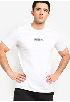 f0f2ad0ae3a90d Puma white Sportstyle Prime Graphic Logo N.2 Tee 55E14AA264EECFGS 1