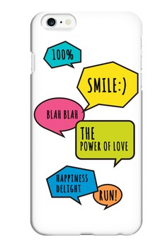 Chatty Glossy Hard Case for iPhone 6 plus