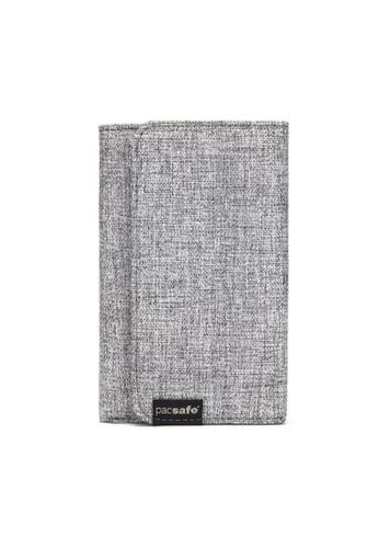Pacsafe grey Pacsafe RFIDsafe Lx100 RFID Blocking Wallet (Tweed Grey) 16370AC6CE4CBCGS_1