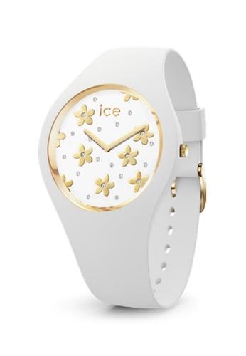 Ice-Watch white Ice-Watch ICE flower - Precious white (Medium) 531FBAC5D1AA15GS_1