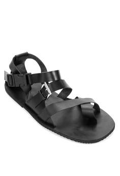 Dominique Strappy Sandals
