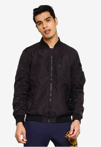 Jack & Jones black Jaxson Bomber 131DCAA32E4EBAGS_1