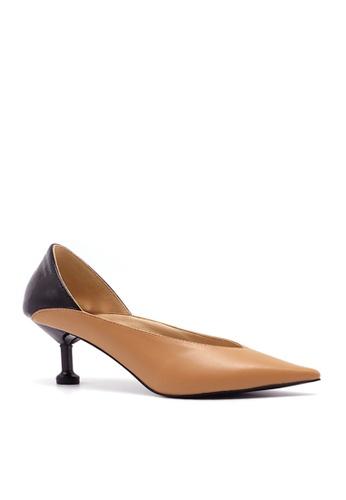 Twenty Eight Shoes brown Stylish Silhouette Heels VL1806815 BB368SHCC8A1E4GS_1