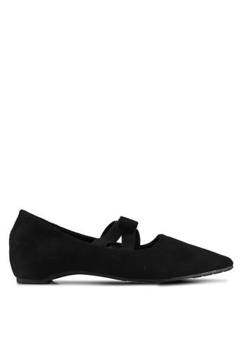 Mimosa black Ribbon Flats 7D838SHD2A1033GS_1